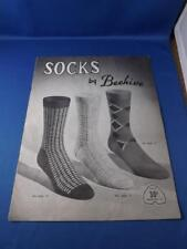 SOCKS BY BEEHIVE PATTERN BOOK KNITTING SERIES 75