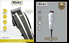 Select Icon Professional Hair Clipper + Wahl Hero Contour Hair Clippers