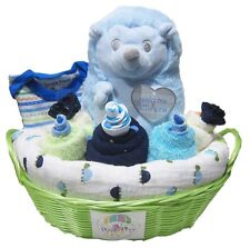 HEDGEHOG RATTLE Boy Baby Shower Hamper Gift Set (HAM178) BRAND NEW