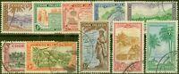 Cook Islands 1949 set of 10 SG150-159 V.F.U