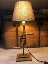 lampe design Deco Industriel Perceuse Lampe Bureau Vintage