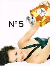 PUBLICITE ADVERTISING 025  1996  CHANEL pafum n°5  CAROLE BOUQUET
