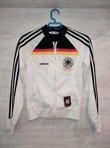 GERMANY EUROPEAN CHAMPIONS 1980 ADIDAS ORIGINAL 368556 JACKET SIZE 36 WOMAN