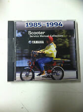 1985-94 YAMAHA SCOOTER SERVICE MANUEL COLLECTION