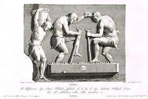 """Zanetti's Greek Statues - 1743 - """"SATIRI"""" (Plate XXXI)"""