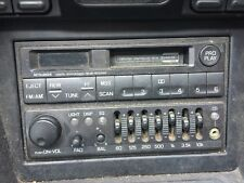 93-96 MITSUBISHI 3000GT STEALTH RADIO AM FM TAPE PLAYER EQUALIZER MELCO MB943294