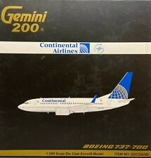 1:200 scale Airliner - Gemini Continental 737-700 (New in Box)
