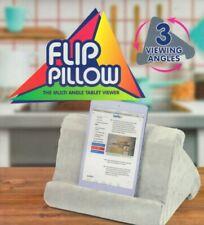 Flip Pillow - Lightweight Tablet Pillow Stand Multi Angle Viewer