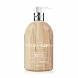 Baylis & Harding Elements Oud & Bergamot Hand Wash - 500ml