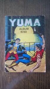 ALBUM YUMA N°60  LUG 1982 TBE (231-232-233)