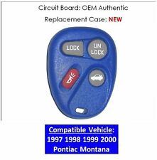97 98 99 00 Pontiac Montana keyless remote controller fob entry transmitter OEM