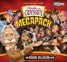 Adventures in Odyssey Megapack CD Library--75 Episodes on 25 CDs!