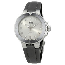 Oris Aquis Date Diamond Dial Automatic Ladies Watch 733-7731-4191RS