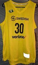Breanna Stewart Seattle Storm WNBA Yellow Fanatics Jersey Size-S - New