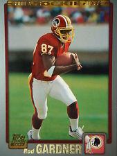 NFL 318 Rod Gardner Washington Redskins TOPPS 2001 Rookie