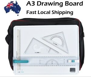 Noble Brand A3 Drawing Board High Quality Free Bag and set square worth $30