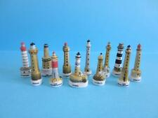 AMAZING MINIATURE LIGHTHOUSES COLLECTION SET, HARD TO FIND *MINT*