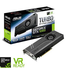 Asus GeForce GTX 1060 TURBO 6GB GDDR5 VR Ready Graphics Card, 1280 Core, 1506MHz