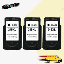 3PK PG-245XL 245 Ink Cartridge For Canon PIXMA iP2820 MG2420 MG2520 MG2922 MX492