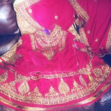 saree lehenga/ sari/ lengha/ bollywood/ indian/ pakistani bridal / party dress