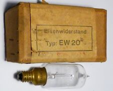 Ballast Fer Hydrogène à pointe EW20b (Eisenwinderstand) 1,3 A 6 à 12 V NIB rare