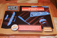 BRAND NEW GUINNESS WORLD RECORDS BUILD YOUR OWN RUBBER BAND PLANES