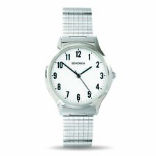 Sekonda Silver Watch With Stretch Band SK3751