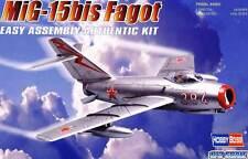 Hobbyboss Mig-15Bis Fagot no.384 Soviet 1951 PLA ROSSO FOX 1:72 modello KIT KIT