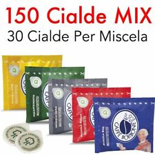 150 CIALDE ESE 44 CAFFE BORBONE MIX DEGUSTAZIONE MISCELA ROSSA BLU NERA ORO DEK