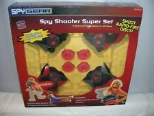Spy Gear Spy Shooter Super Set Wild Planet 2006 (4 blasters 80 disc) New Sealed