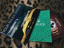 "ROLEX ""YOUR OYSTER"" and COSC BOOKLET from 1988 SUBMARINER DAYTONA GMT DATEJUST"