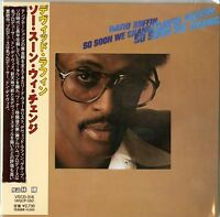 DAVID RUFFIN-SO SOON WE CHANGE-JAPAN MINI LP CD F83