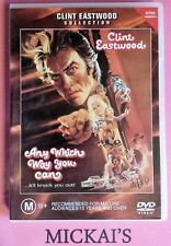 ANY WHICH WAY YOU CAN - CLINT EASTWOOD COLLECTION #18586 WARNER BROTHERS DVD PAL