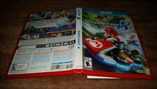 MARIO KART 8 CART RED NINTENDO WII U LN PERFECT CONDITION COMPLETE!