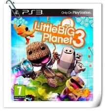 PS3 LITTLE BIG PLANET 3 CHINESE 小小大星球 3 中文版 Sony PlayStation Platform Games SCE