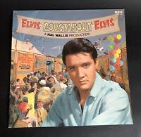 ELVIS PRESLEY ROUSTABOUT Soundtrack Album LP RCA Int UK 1964 Vinyl Record VGC