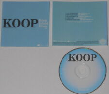 Koop - Koop Island Blues EP - ESTADOS UNIDOS Promo CD