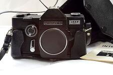 Universa PHOKINA Interflex TL camera appareil photo M42 Japan Black + étui cuir