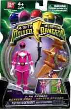 "Mighty Morphin Power Rangers Pink 4"" w Light up Dino Fly 2010 New Factory Sealed"