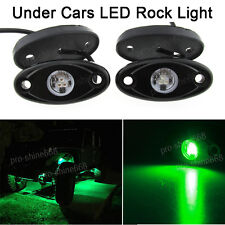 4x Green Offroad Truck Car SUV Underbody Glow Light Lamp Tail Light Fit Renault