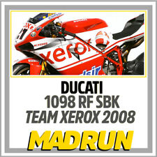 Kit Adesivi Ducati 1098 Team Xerox SBK 2008 - Light Version - High Quality Decal