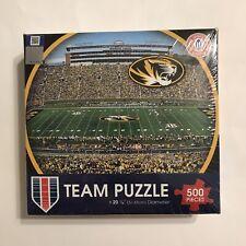 "Missouri Tigers Team Puzzle By WinCraft 500 Pieces NCAA Football Stadium 20.25"""