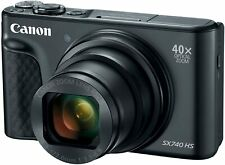 New Canon PowerShot SX740 HS Digital Camera (Black)