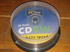 CD RW Pack Of 17 PC Line 8-12x Speed