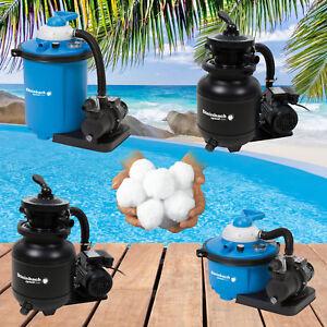 Steinbach Sandfilter Sandfilteranlage Filter Balls Filter Pool Filterpumpe Speed