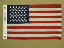 "United States U.S. Old Glory Indoor Outdoor Sewn Nylon Boat Flag Grommet 20""X30"""