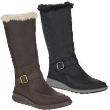 Merrell Womens/Ladies Tremblant Ezra Tall Polar Leather Snow Winter Boots