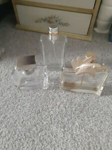 Empty Perfume Bottles Vintage Kenzo Elephant Chanel Allure And Romance Ralph...