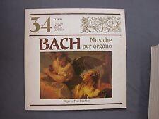 """LP 12"""" 33 rpm 1982 Nº 34 I TESORI DELLA MUSICA CLASSICA - BACH - TCMC-34"""