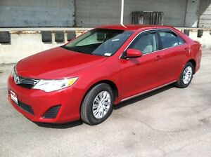 Toyota Camry 2012 - 2014 Wind deflectors In-Channel